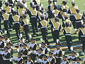 Cal Band performing pregame at 2008 Big Game 19.JPG