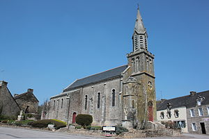 Plumelec - Image: Callac Eglise 3714
