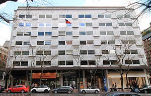 Chile–Spain relations - Image: Calle Lagasca 88 (Madrid) 01