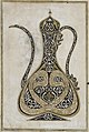 Calligraphic Design of a Ewer (Ibrik) with a Long Spout LACMA M.85.237.60.jpg