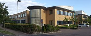 Arm Holdings - Image: Cambridge ARM building panorama