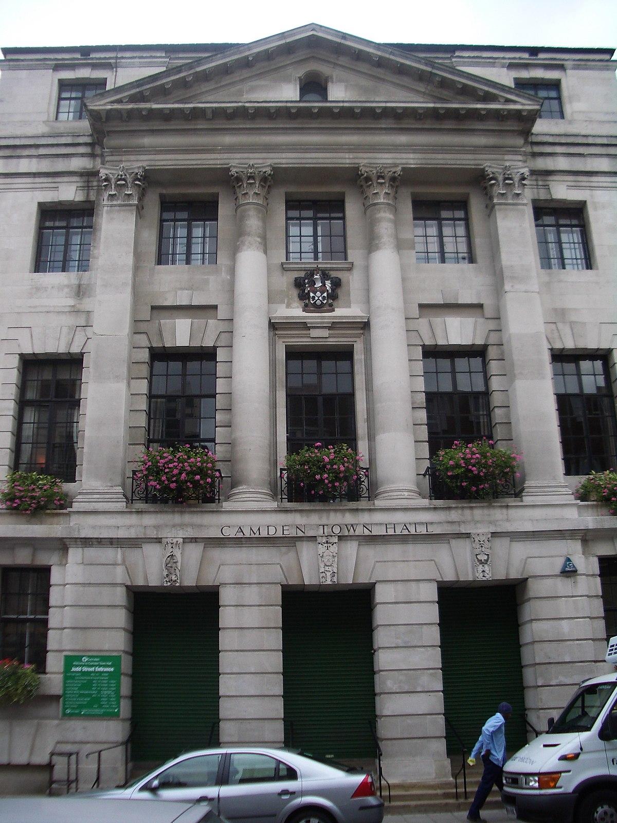 Camden Town: Camden Town Hall