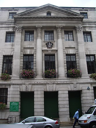 Metropolitan Borough of St Pancras - Image: Camden Town Hall 2005