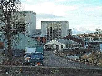 Gordon's Gin - The Cameron Bridge Distillery in Scotland where Gordon's is produced
