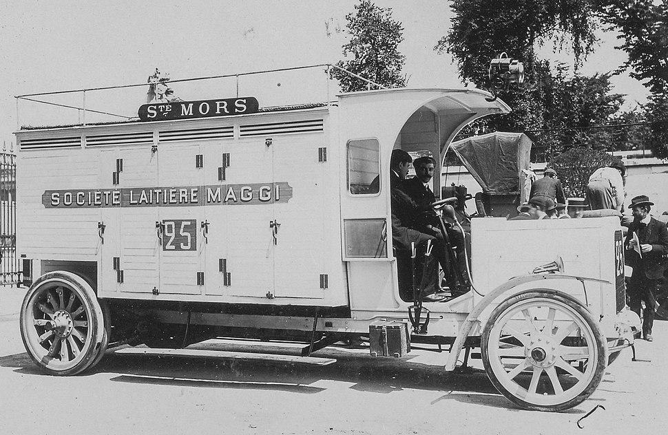 Camion laitier Mors de 1906