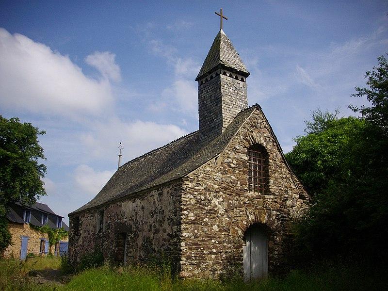 Saint Jean chapel in Campénéac (Morbihan, France)