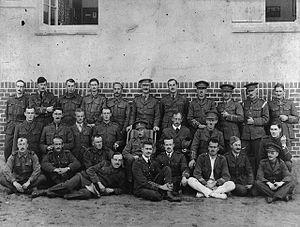 World War I prisoners of war in Germany - Canadian prisoners of war in Germany in 1917