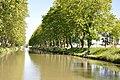 Canal du Midi, Carcassonne, Languedoc-Roussillon, France - panoramio (20).jpg