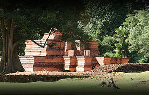 Malays (ethnic group) - Muaro Jambi Temple Compounds in Jambi, historically linked to the pre-Islamic Melayu Kingdom.