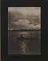 Canoeists enjoying the beauties of the summer night, Saskatoon (HS85-10-22699).jpg