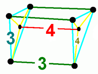 Cantellated 5-cubes - Image: Cantellated 5 cube vertf
