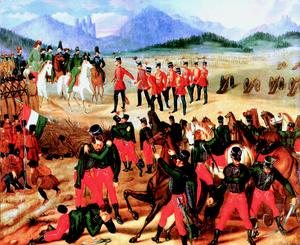 Surrender at Világos - Surrender at Világos (István Szkicsák-Klinovszky)