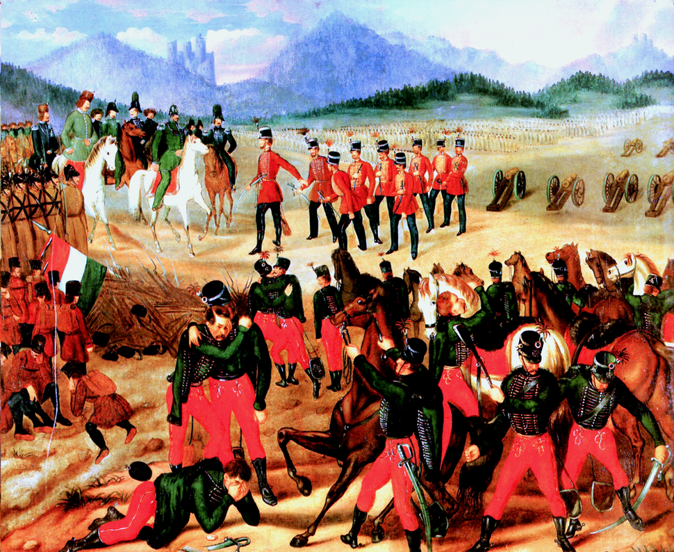 Capitulaton of Hungarian Army at Világos 1849