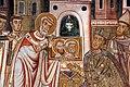 Cappella di san silvestro, affreschi del 1246, storie di costantino 04 silvetsro fa venerare a costantino i ss. pietro e paolo 2.jpg
