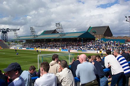 Cappielow Park, home of Morton F.C. Cappielow.JPG