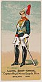 Captain, Royal Horse Guards, Blue, England, 1879, from the Military Series (N224) issued by Kinney Tobacco Company to promote Sweet Caporal Cigarettes MET DPB874122.jpg