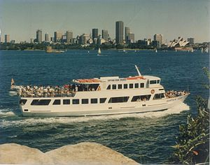 Captain Cook Cruises, Australia - Captain Cook II