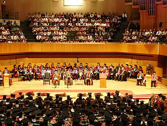 Cardiff University - A Cardiff University graduation ceremony in 2006
