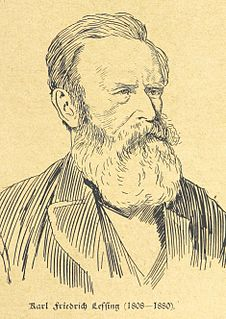 image of Carl Friedrich Lessing from wikipedia