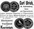 Carl Ulrich, Tabak- und Cigarrenfabrik.png