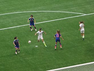 2015 FIFA Women's World Cup Final - Carli Lloyd during the final