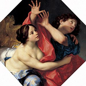 Carlo Cignani - Joseph and Potiphar's Wife, 1680