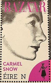 Carmel Snow Irish journalist