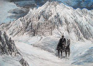 Witch King and his fortress of Carn Dûm