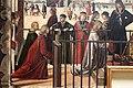 Carpaccio, storie di s.orsola 01 Arrivo degli ambasciatori inglesi alla corte del re di Bretagna, 1495 circa, 05.JPG