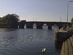 The River Shannon at Carrick-on-Shannon