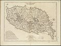 Carte de l'Isle de la Grenade cédée a la Grand Bretagne par le dernier traité de paix - Grenada divided into its parishes - surveyed by order of his excellency Governor Scott (4587173488).jpg