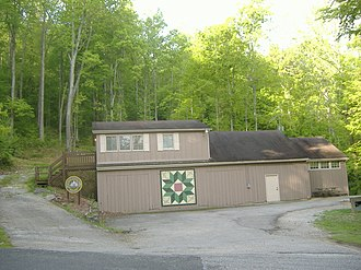 Carter Caves State Resort Park - Image: Carter Caves Ranger Station