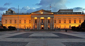Government of Colombia - Casa de Nariño, the presidential palace in Bogotá houses the President of Colombia and maximum representative of the Executive Branch of Colombia.