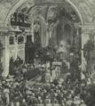 Casamento do Senhor D. Manuel de Bragança; a cerimónia religiosa na Igreja Paroquial de Sigmaringen - O Occidente (20Set1913).png