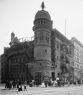 former Broadway theatre in Manhattan, New York City, United States