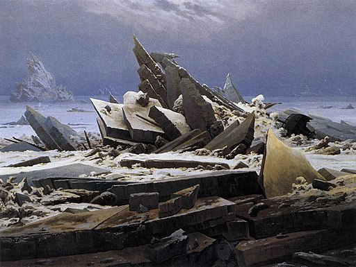 Caspar David Friedrich - The Sea of Ice - WGA8270
