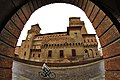Castello Estense - Veduta dal Teatro Comunale.JPG