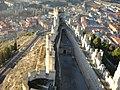 Castillo de Peñafiel - Vista lado izquierdo desde torre central.jpg