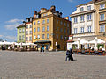 Castle Square in Warsaw - Plac Zamkowy w Warszawie 2012 (1).JPG