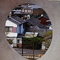 Castle Town thru Bullet Hole of Shimabara Castle 島原城槍眼看城下町 - panoramio.jpg