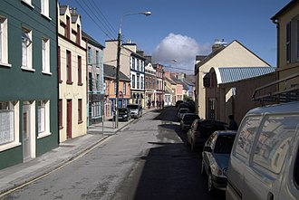 Castletownbere - The Main Street of Castletownbere