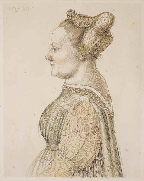 Caterina Cornaro by durer