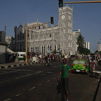 Church of Nigeria -  Cathedral Church of Christ, Lagos