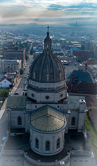 Cathedral of the Blessed Sacrament (Altoona, Pennsylvania) - Image: Cathedral of the Blessed Sacrament, Altoona PA July 2018