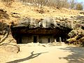 Cave 4 Elephanta Caves Elephanta Island India - panoramio (1).jpg