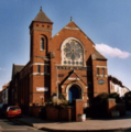 Cavendish Road, Aylestone Park, Leicester, UK, now the Ecumenical Church of the Nativity.png