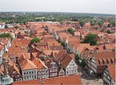 Rooftop view of Celle (Source: Wikimedia)
