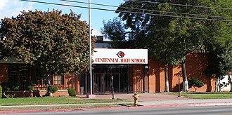 Centennial High School (Compton, California) - Image: Centennial High School Compton Calif