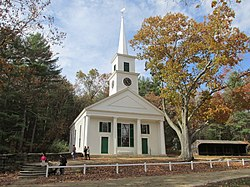 Center Meetinghouse in Old Sturbridge Village