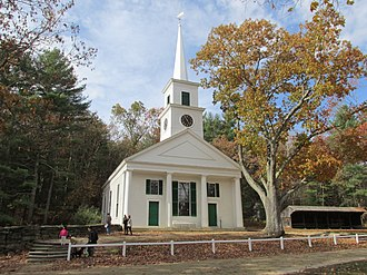 Sturbridge, Massachusetts - Center Meetinghouse in Old Sturbridge Village
